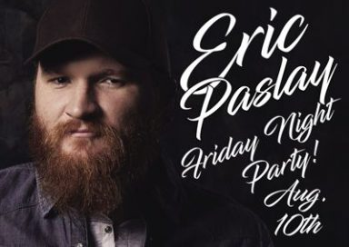 Eric Paslay w/Brent Lowry & The Drifters @ All American Rock House | Findlay | Ohio | United States