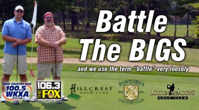 Battle The Bigs Round I @ Hillcrest Golf Club, Loudon Meadows Golf Club, or Fostoria Country Club