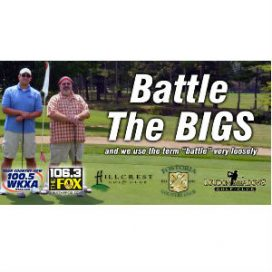 Battle The Bigs Round VI @ Hillcrest Golf Club, Loudon Meadows Golf Club, or Fostoria Country Club