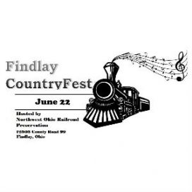 Findlay CountryFest @ Northwest Ohio Railroad Preservation
