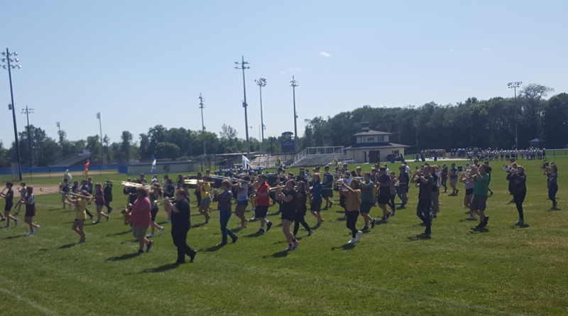 Findlay High School Marching Band Gears Up For First Game Of