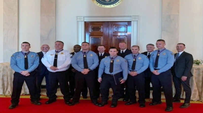 Ohio Police Officers Honored At White House For Actions
