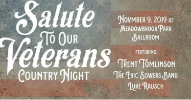 Salute To Our Veterans Concert @ Meadowbrook Park Ballroom
