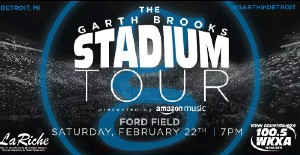 Garth Brooks Concert @ Ford Field