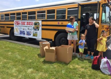 Stuff The Bus - Day 1 @ McDonald's