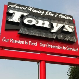 Grand Re-Opening and Unveiling Event @ Tony's Restaurant / Hancock Sports Hall of Fame