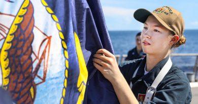 Seaman Alexis Ennis